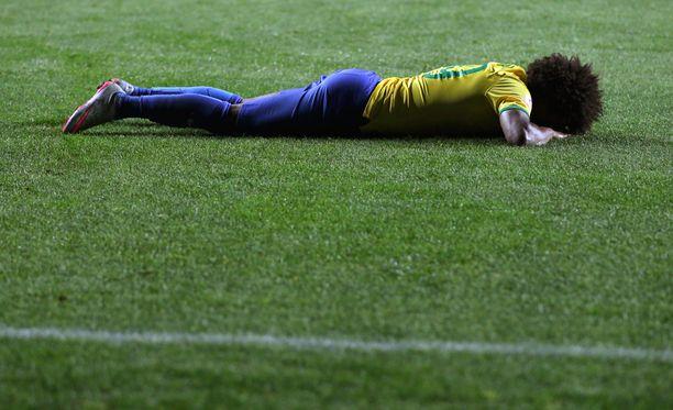 Brasilian Wilian suree tappiota.