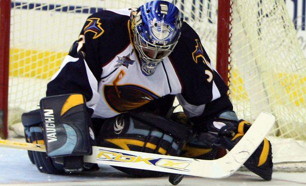 Kari Lehtosen pitkä NHL-taival alkoi Atlanta Thrashersista.
