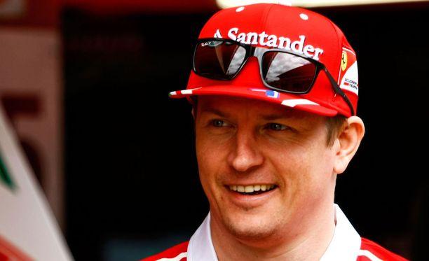 Kimi Räikkönen lähtee Espanjan GP:hen nelosruudusta.