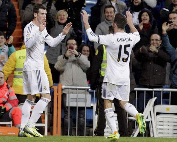 Gareth Bale oli mahtavalla pelipäällä.