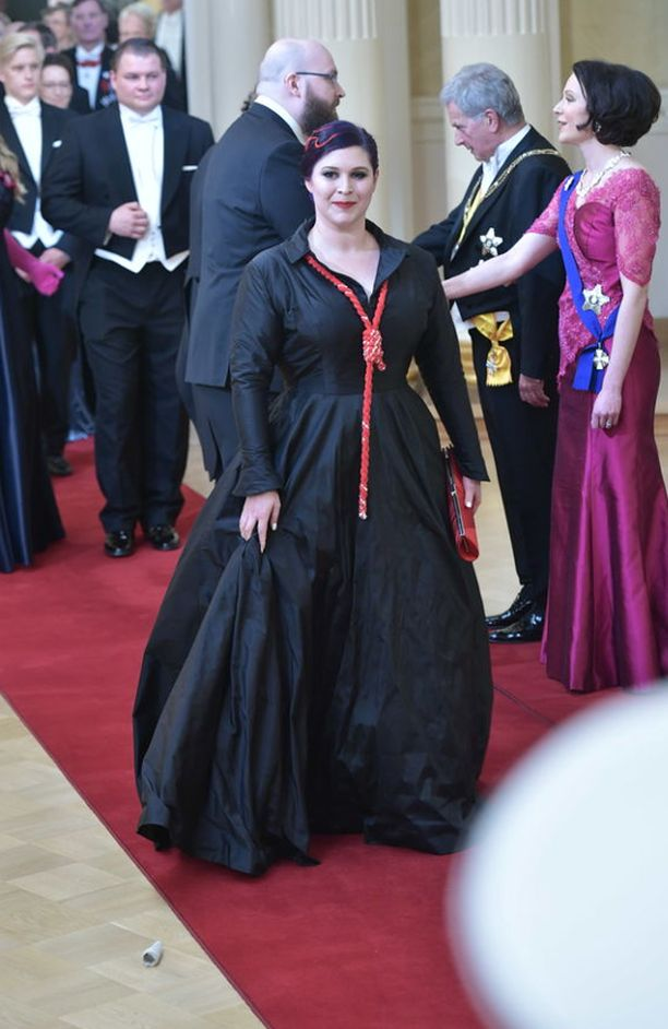 Maria Pettersson, 35, on tunnettu suomalainen toimittaja.