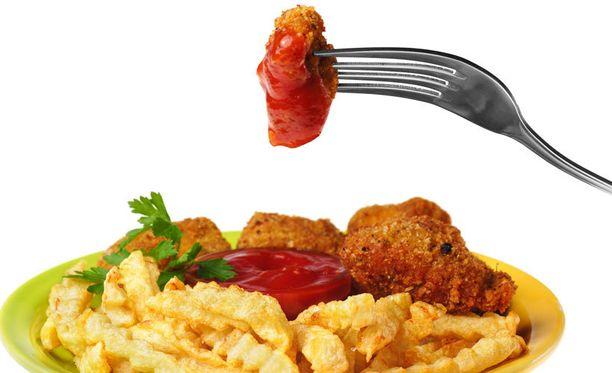 Tutkimuksessa selvisi, ettei tutkimuksessa analysoituja nugetteja voinut terveellisten ruokien kategoriaan laskea.