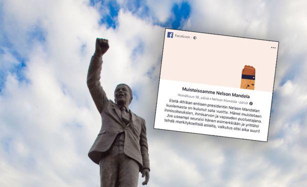 Nelson Mandelalle on pystytetty useita patsaita ympäri maailmaa. Kuvituskuva.