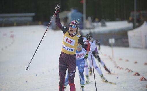 Anne Kyllönen naisten nopein Suomen cupissa – Joni Mäki täysin ylivoimainen miesten finaalissa