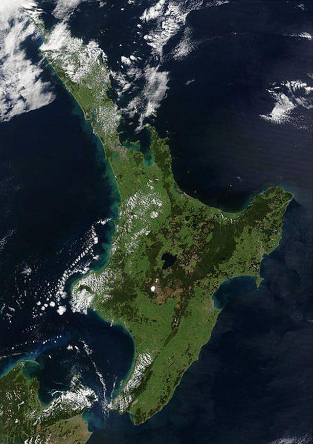 Pariskunta asui Uuden-Seelannin Pohjoissaarella.