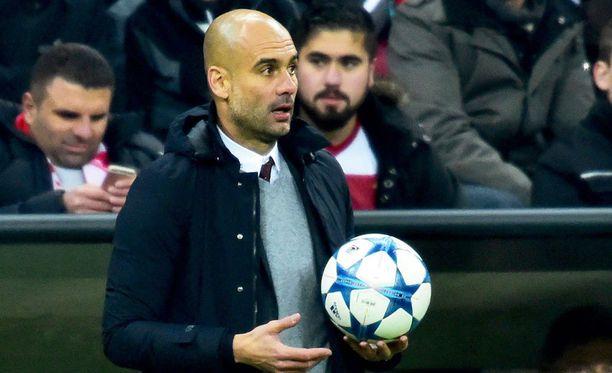 Pep Guardiolan tulevaisuus on tapetilla.