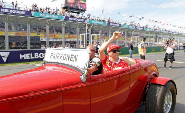 Kimi Räikkönen ei onnistunut Autosportin mukaan Australian GP-avauksessa.