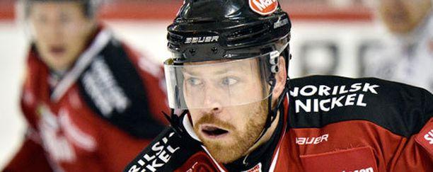 Garrett Stafford sai pahan aivotärähdyksen helmikuussa.