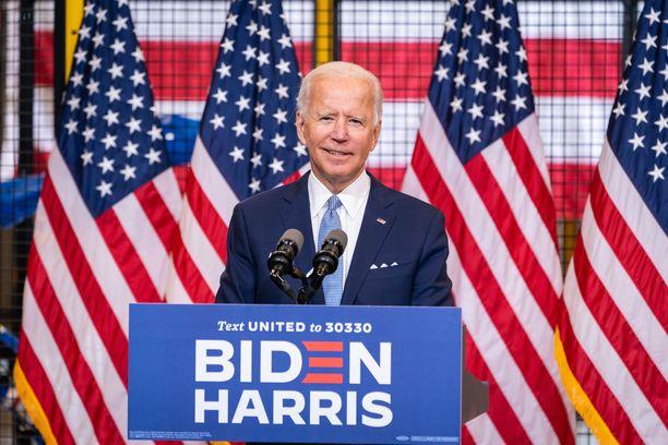 Joe Bidenista tulee presidentti 78-vuotiaana.