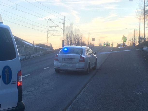 Poliisilla oli tapaukseen liittyvä operaatio perjantaina.