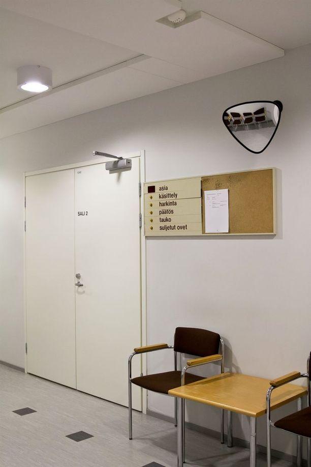Pohjois-Karjalan käräjäoikeus käsitteli seksuaalirikoksia suljetuin ovin.