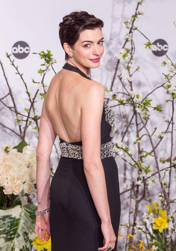 Anne Hathaway on palkittu muun muassa Oscarilla ja Golden Globella.