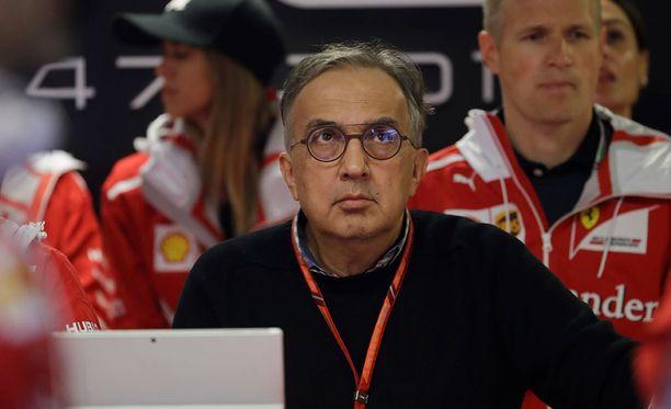 Sergio Marchionne ei ollut erityisen juhlavissa tunnelmissa Italian GP:n jälkeen.
