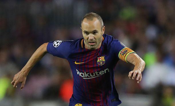Andres Iniesta pysyy Barcelonan miehenä - aina.