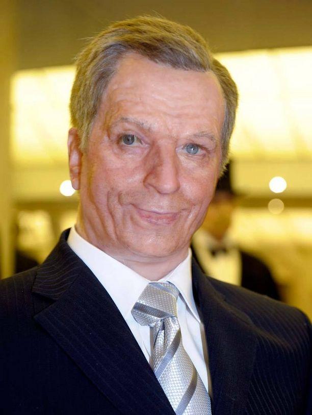 Presidentti Sauli Niinistöstä on tehty vahanukke.
