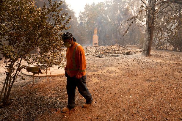 Monien ihmisten koteja on tuhoutunut Kalifornian maastopaloissa.