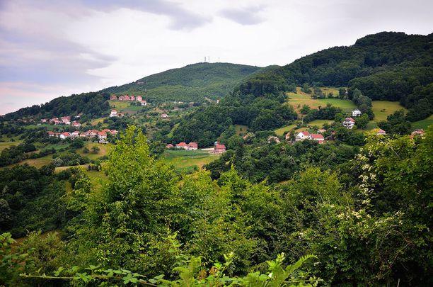 Kosovosta löytyy kauniita vuorimaisemia.