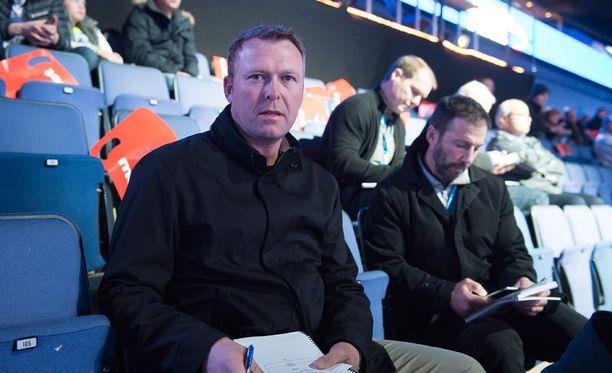 Martin Brodeur etsii Helsingissä lupaavia pelaajia St. Louis Bluesille.