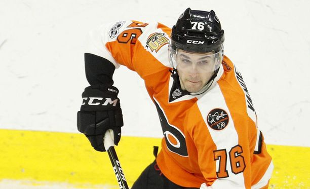 Chris VandeVelde pelasi vielä viime kaudella Philadelphia Flyersissä.
