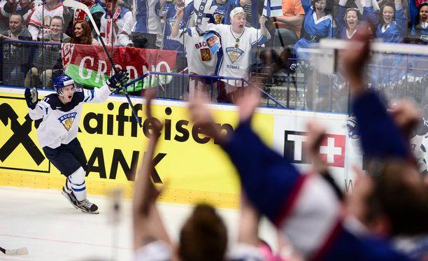 Antti Pihlström hakee paikkaa NHL:stä.