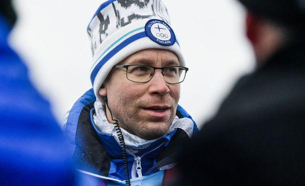 Olli Ohtonen on toiminut Iivo Niskasen valmentajana vuodesta 2013 lähtien.