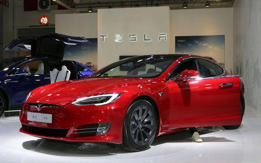 Tesla on nyt maailman arvokkain autonvalmistaja