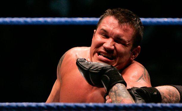 Randy Orton esitteli taitojaan Helsingissä vuonna 2005.
