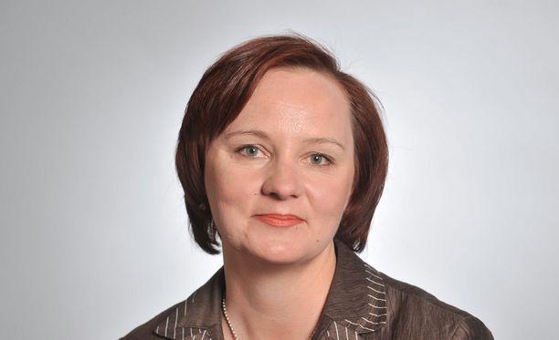 Keskustan kansanedustaja Anne Kalmari pyrkii puolueensa varapuheenjohtajaksi.