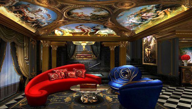 Hotellin omistaja Stephen Hung on itse suunnitellut osan huonekaluista.