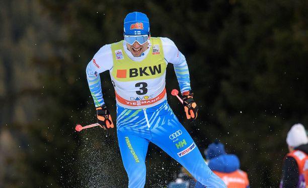 Martti Jylhä hiihti komeasti karsinta-aika-ajon neljänneksi.