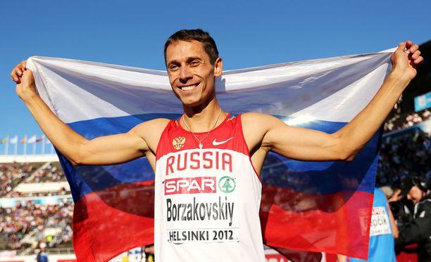 Juri Borzakovski vannoo Venäjän yleisurheilun puhtauden puolesta.