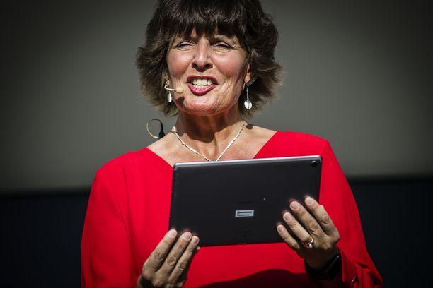 Anne Berner on tienannut yritystoiminnalla miljoonaomaisuuden. Arkistokuva.