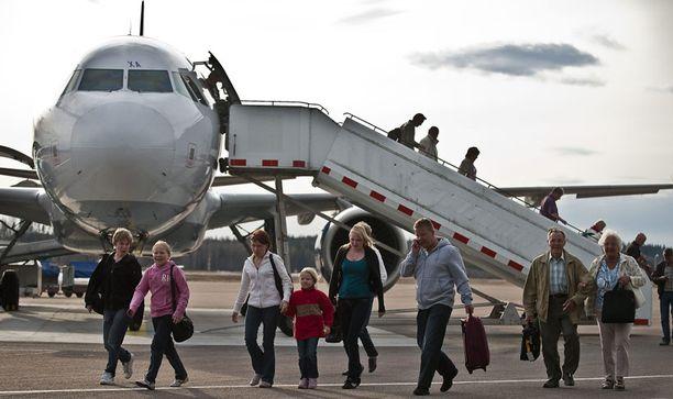Tuhkapilvi rajotti Suomen lentoliikennettä huhtikuun lopussa.