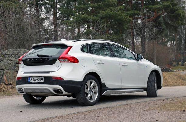 Leveät hartiat ovat yhä Volvon tavaramerkkinä.