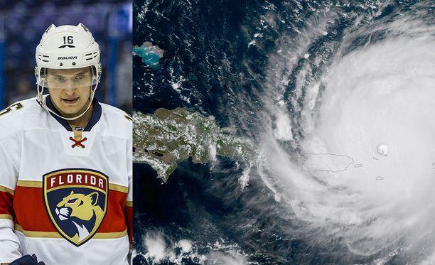 Viidennen kategorian hurrikaanin jatkaa tällä hetkellä matkaansa Dominikaanisen tasavallan ja Haitin pohjoispuolelta kohti Floridaa.