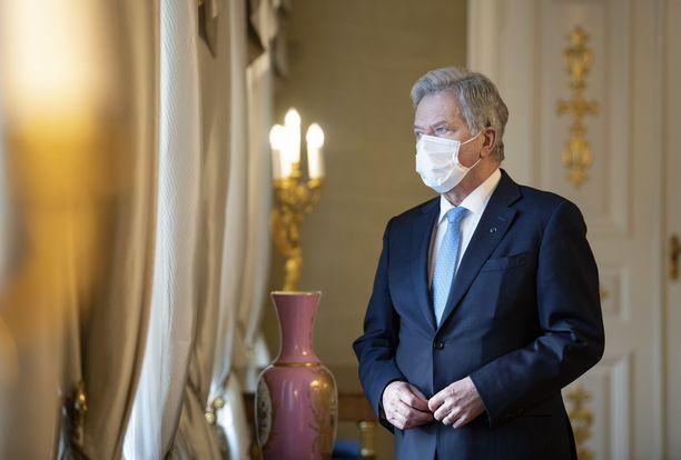 Presidentti Niinistö puhui keskiviikkona valtiopäivien avajaisissa. Arkistokuva.