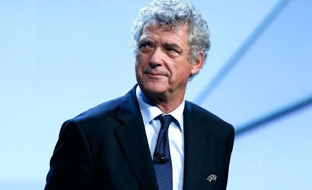 Angel Maria Villar oli vajaan vuoden ajan Uefan puheenjohtajana Michel Platinin potkujen jälkeen.