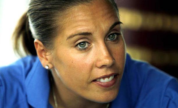 Kirsi Ahonen ei päässyt olympiajoukkueeseen.
