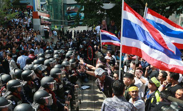 Levottomuudet ovat sekoittaneet Thaimaan pääkaupungin.