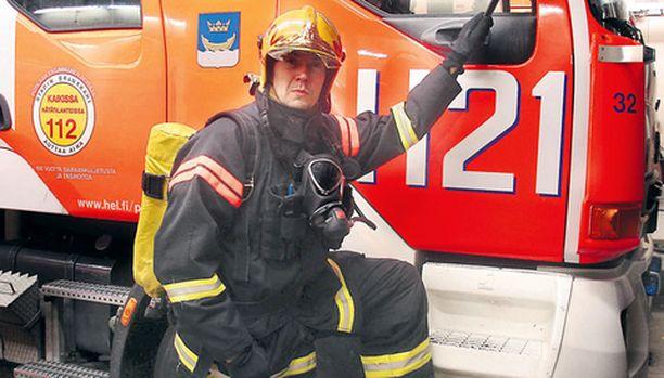 Paloesimies Marko Värilä on innostava pomo.
