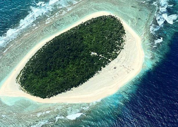 Pikelot on asumaton saari.
