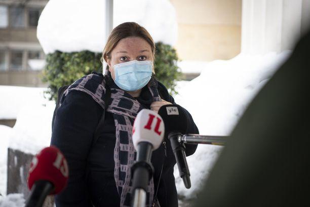 Krista Kiurun mukaan rajojen terveysturvallisuudessa on vielä parannettavaa. Arkistokuva.
