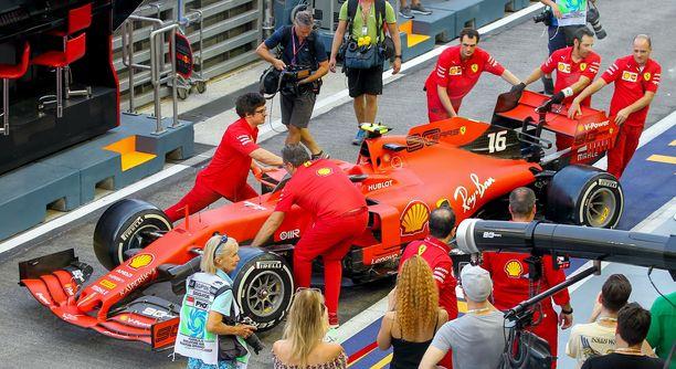 Mitä jos kuka tahansa voisi ostaa Ferrarin F1-auton?
