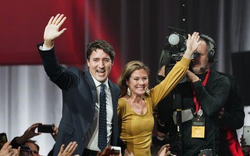 Kohujen kolhima liberaalien kultapoika Trudeau säilytti vaivoin vallan Kanadassa