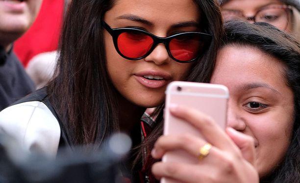 Selena Gomezilla on Instagramissa 114 miljoonaa seuraajaa.
