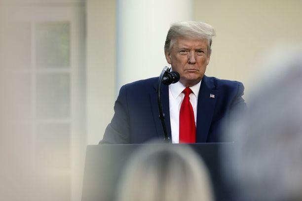 Trump on ennakoinut yhteistyön katkaisemista jo aiemmin.