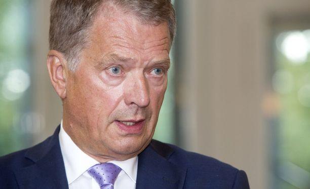 Presidentti Niinistö pitää tiedotustilaisuuden Mäntyniemessä kello 17.