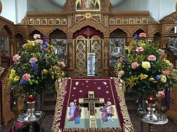 Valamon kirkoista ei koristeellisuutta puutu!