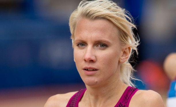 Sandra Eriksson juoksi uuden Suomen ennätyksen Prahassa.