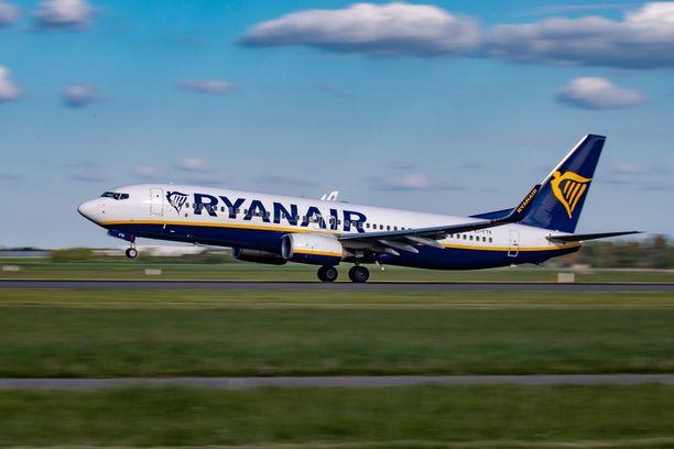 Muun muassa Ryanair käyttää Boeing 737NG-koneita.